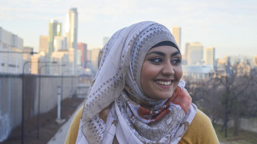 Ainee Fatima. Fotografía de Rawan Elbaba.