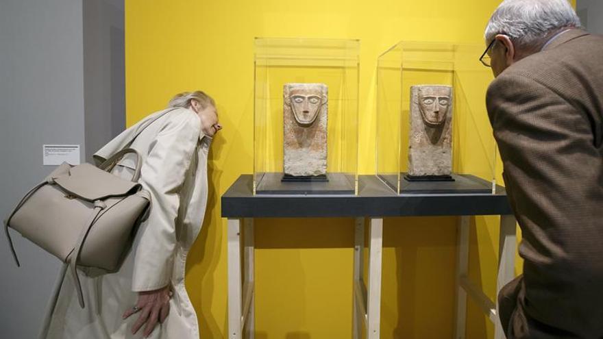 Nueve obras de arte confiscadas de Siria, Yemen y Libia se exponen en Suiza