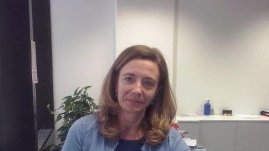 Cristina Rivero, jefa del Área Industria, Energía y Medio Ambiente.