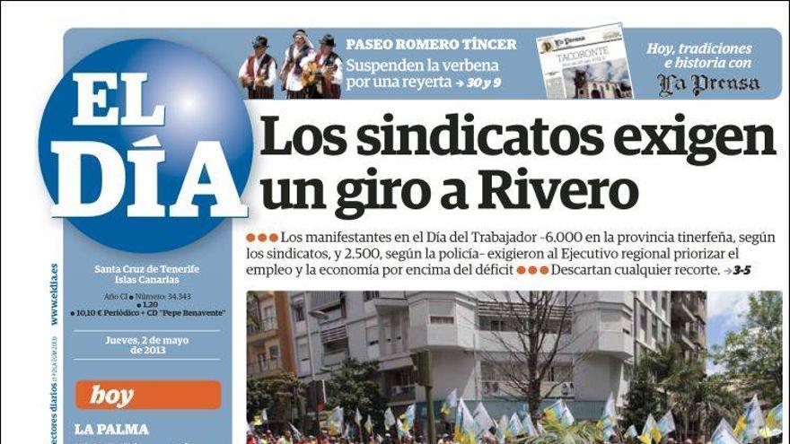 Las portadas del día (2-05-2012) #2