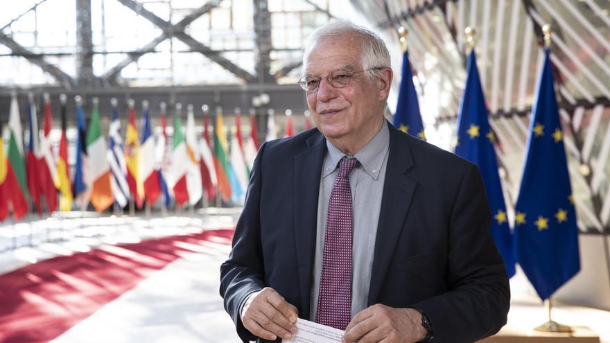 El jefe de la diplomacia europea, Josep Borrell.