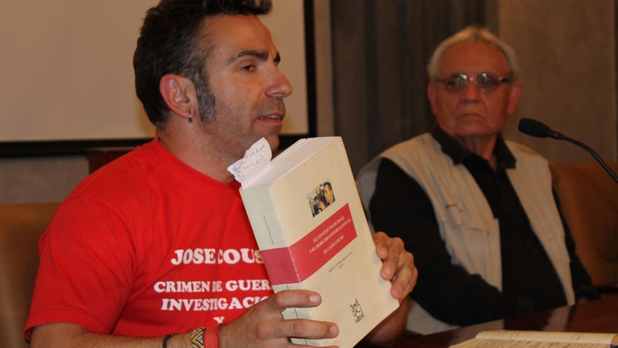 David Couso, en Sevilla.