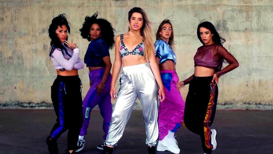 Así suena el primer single de Lola Índigo, el grupo de Mimi (OT) junto a chicas de Fama