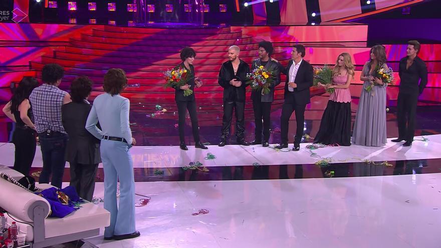 Los cinco finalistas de 'Tu cara me suena 8'