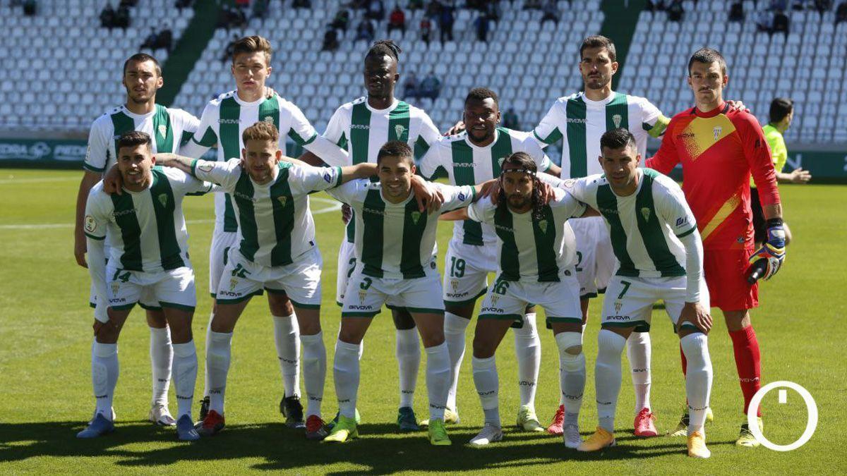 Once del Córdoba en el último partido de la primera fase.