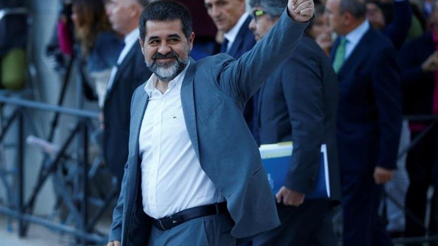"""Jordi Sànchez rechaza """"ser moneda de cambio"""" en una negociación para aprobar los PGE"""