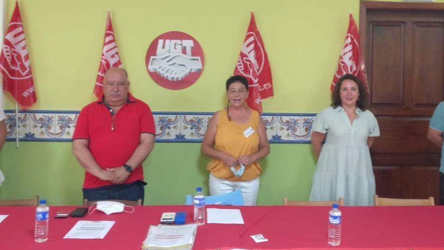 Lupe Parrilla revalida su cargo como secretaria general de UGT en La Palma