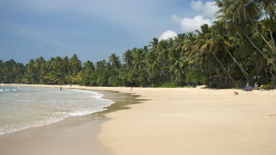 Playas del sur de Sri Lanka. Claire Rowland