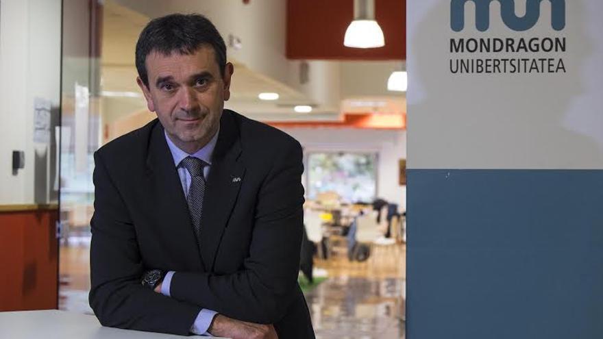 El rector de Mondragon Unibertsitatea, Vicente Atxa.