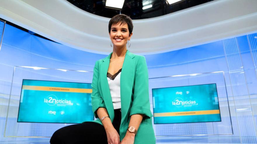 Paula Sainz-Pardo presenta 'La 2 Noticias'