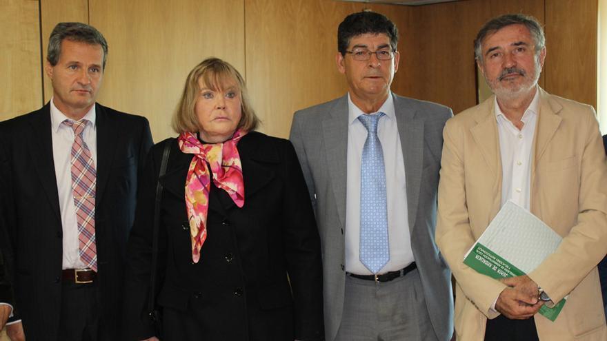 Ramiro González, María Servini, Diego Valderas y Luis Naranjo.