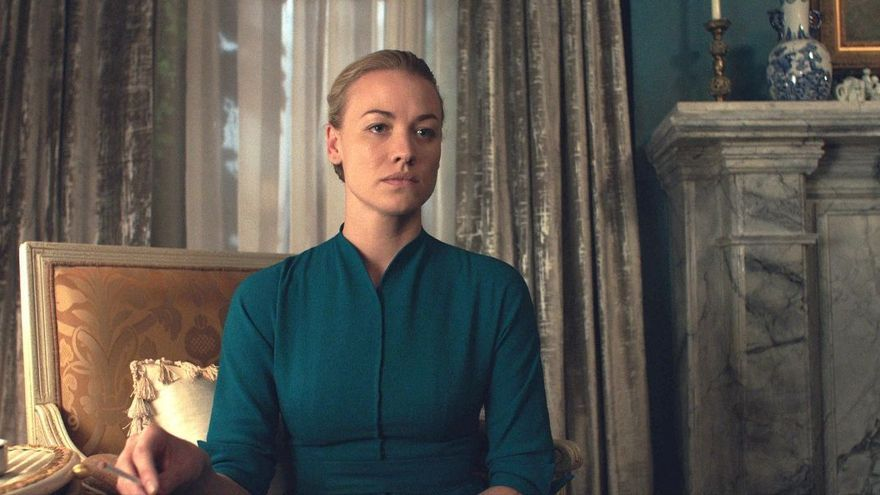 Yvonne Strahovski como Serena Joy, la esposa de 'El cuento de la criada'