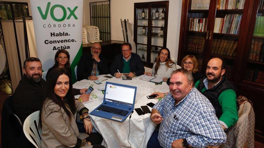 Ejecutiva de Vox en Córdoba | TONI BLANCO