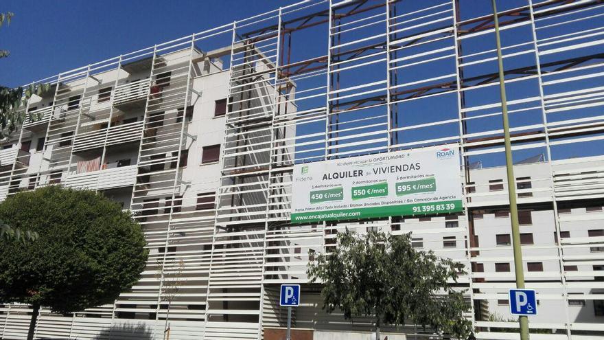 Una promoción de viviendas anexa a la de la familia Mejías Cano en La Peseta. / S.P