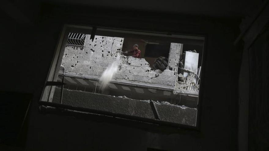 6 civiles muertos por un bombardeo de la coalición  durante un funeral en Siria