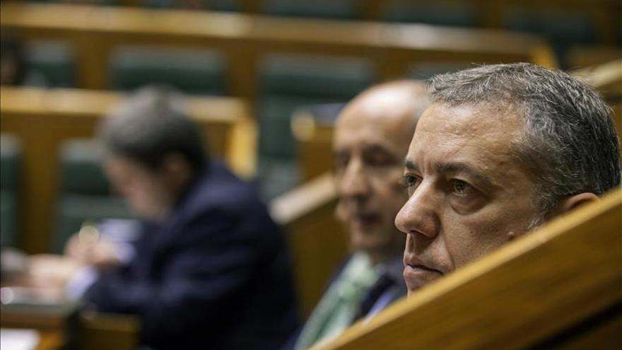 Urkullu apela al Ministerio del Interior a colaborar en esclarecer los atentados