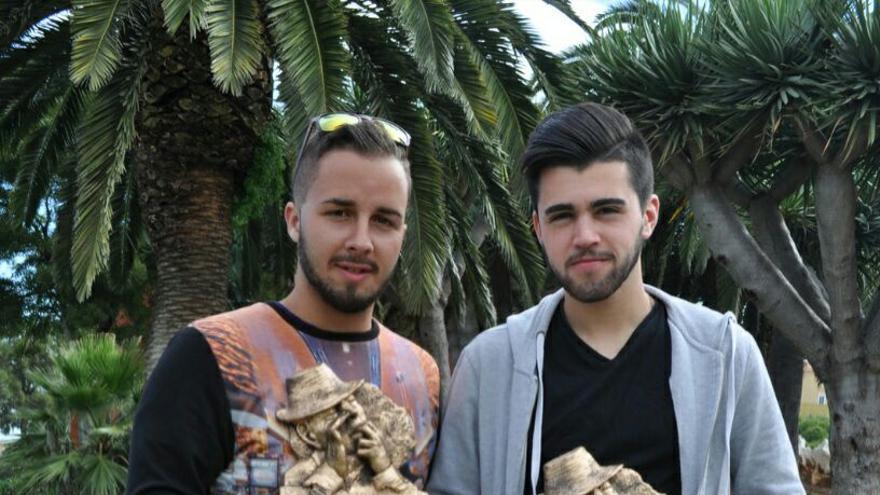 Dani García y Alejandro Lucas, silvadores premiados.
