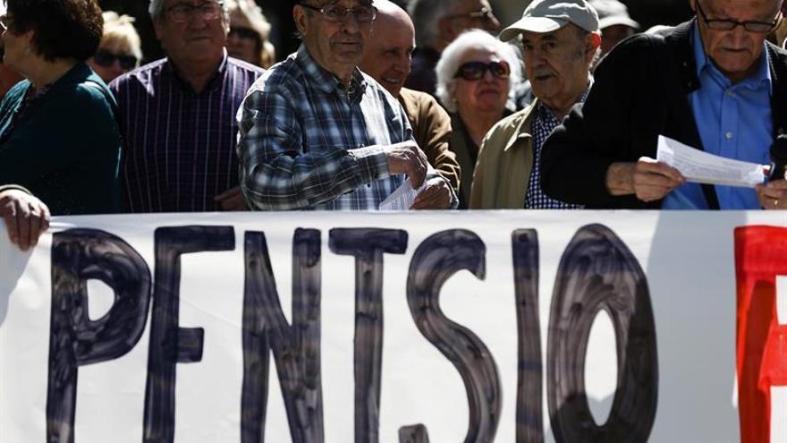 Colectivos de jubilados vascos demandan unas pensiones públicas dignas