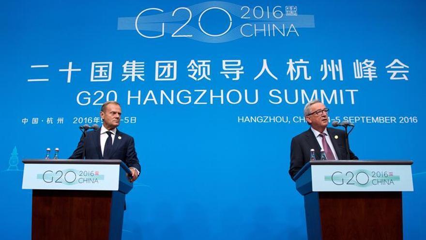 La UE pide al G20 más compromiso en la crisis de los refugiados