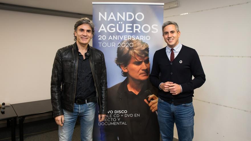 Nando Agüeros celebra 20 años en los escenarios con una gira que recalará el 14 de febrero en Santander