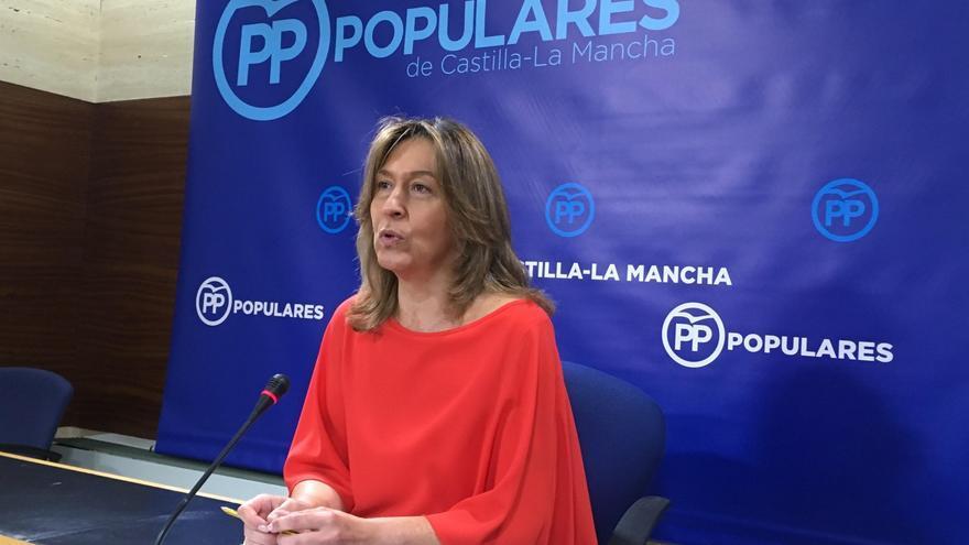 La presidenta del Grupo Popular en las Cortes regionales, Ana Guarinos