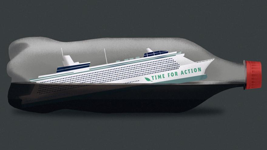 El Crucero por el Clima (100% reciclado)