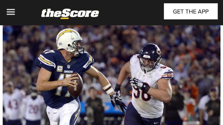 En The Score incluso la foto se la lleva el marido de Cory Cogdell.