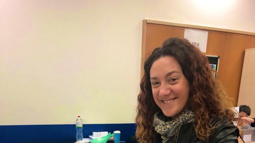 La diputada de En Comú Podem Aina Vidal Sáez
