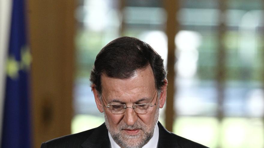 Rajoy dice que el PIB crece un 0,2% en los sectores no afectados por la construcción o los recortes