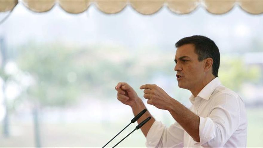 Los socialistas madrileños muestran su apoyo a Pedro Sánchez