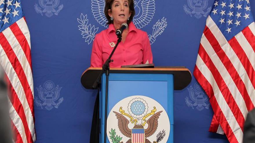 La embajadora Jacobson transmite las condolencias de EE.UU. a México por el terremoto