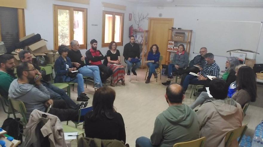 Reunión de la Red de Economía Social de Castilla-La Mancha