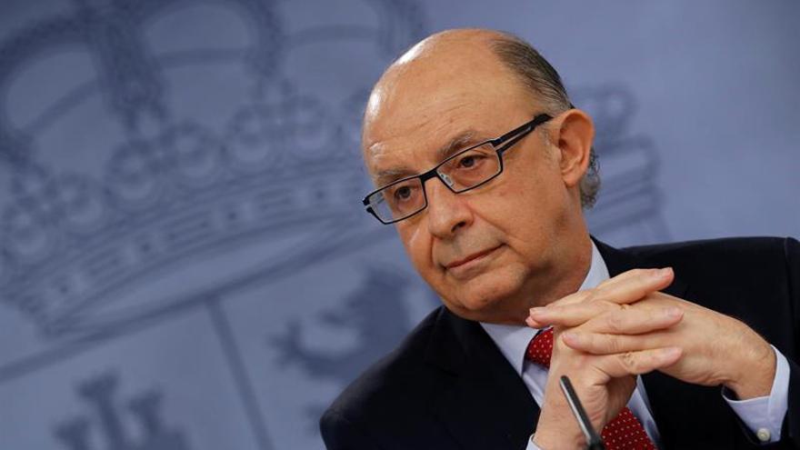 Cristóbal Montoro, ministro de Hacienda / EFE