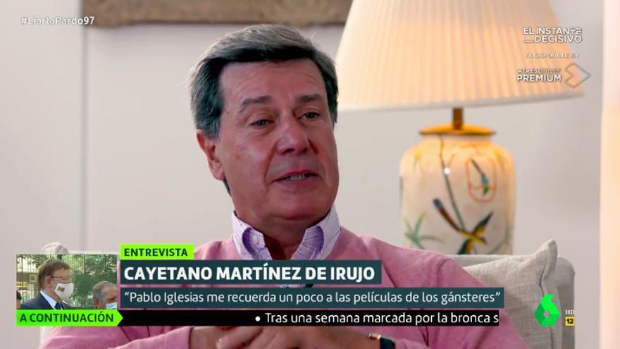 Cayetano Martínez de Irujo, en 'Liarla Pardo'