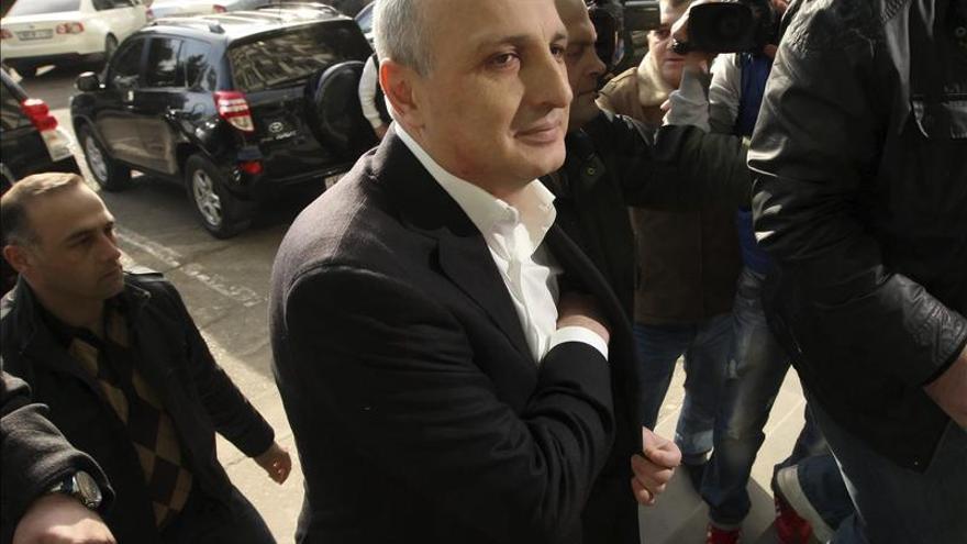 Detenido el ex primer ministro georgiano por financiación ilegal