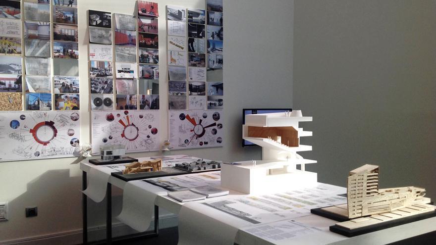 Uno de los proyectos que se muestran en la exposición. / MEDIOMUNDO arquitectos