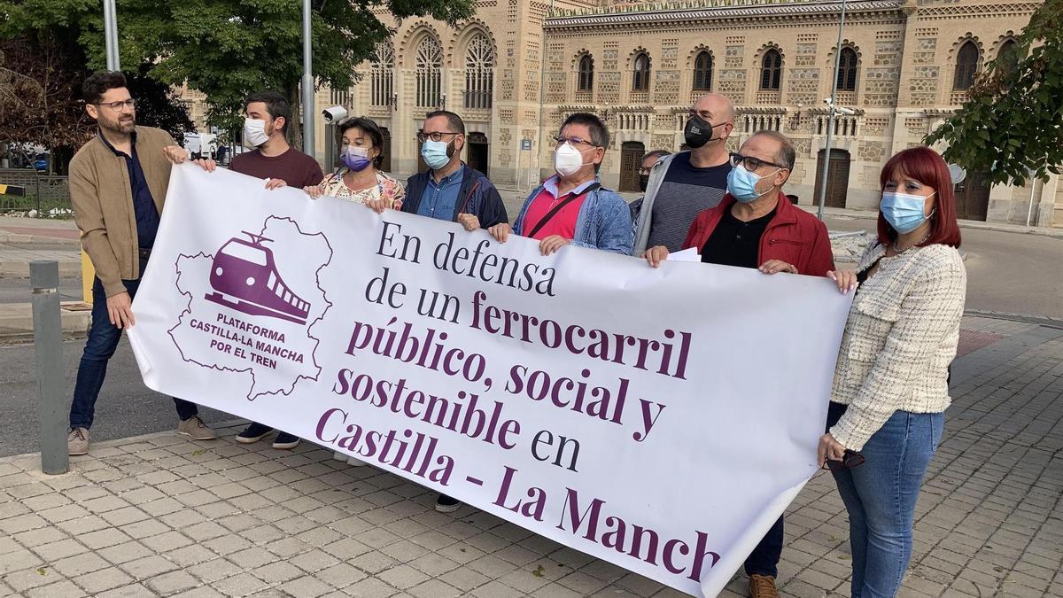 Este lunes se han anunciado acciones reivindicativas por el ferrocarril en Castilla-La Mancha