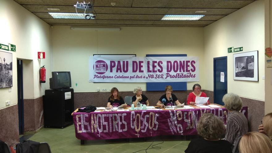 """Presentación del manifiesto """"La Pau de les dones"""""""