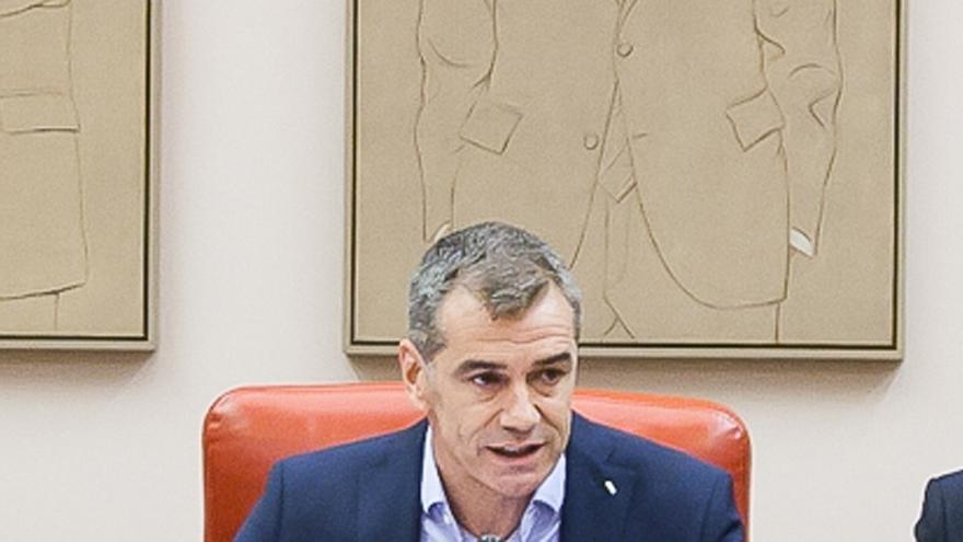 """Cantó relaciona los ataques a las sedes de C's con el discurso de Podemos y su """"banalización de la violencia"""""""