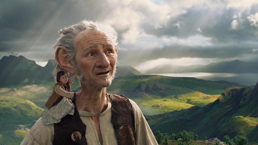 El gran gigante bonachon de Roald Dahl, según Steven Spielberg