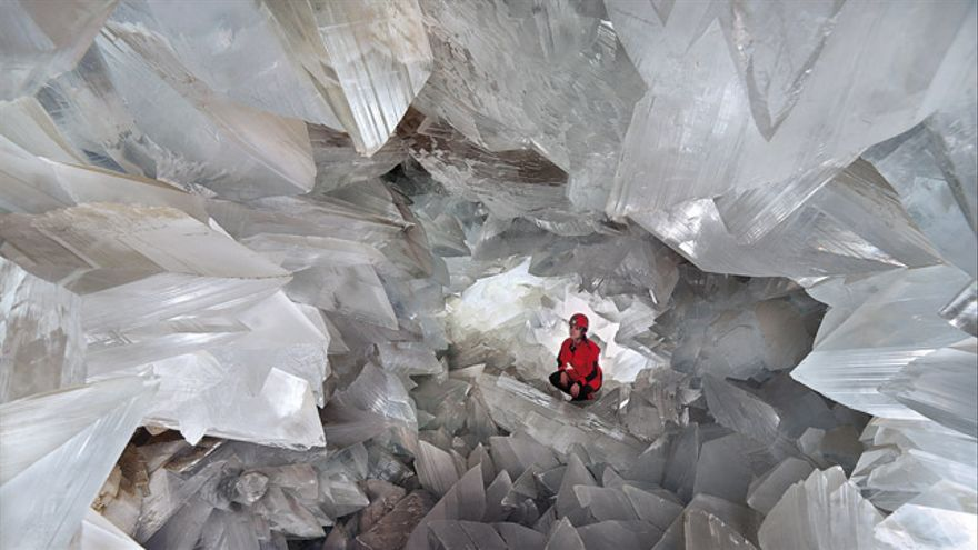 La Geoda de Pulpí es la más grande de Europa y la segunda del mundo.
