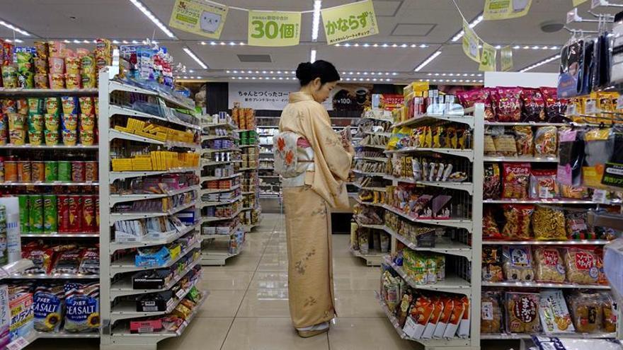 Los precios cayeron en Japón en octubre por octavo mes consecutivo