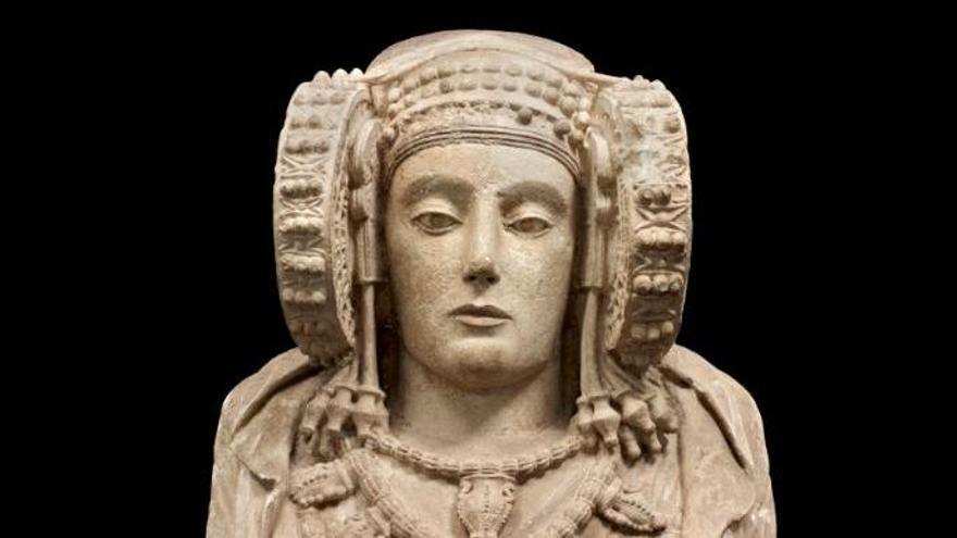 La dama de Elche, busto íbero del siglo V a.C.