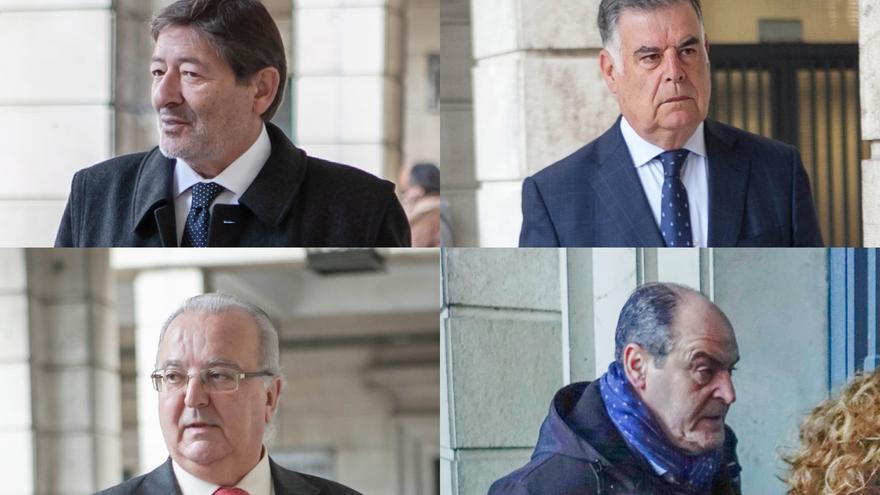 Tribunal de los ERE convoca el jueves la vista sobre la prisión de Guerrero, Fernández, Viera y Márquez