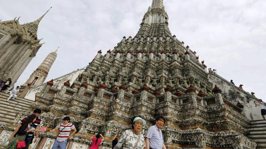 Tailandia recibe 26,7 millones de turistas en 2013, un 19,6 por ciento más que en 2014