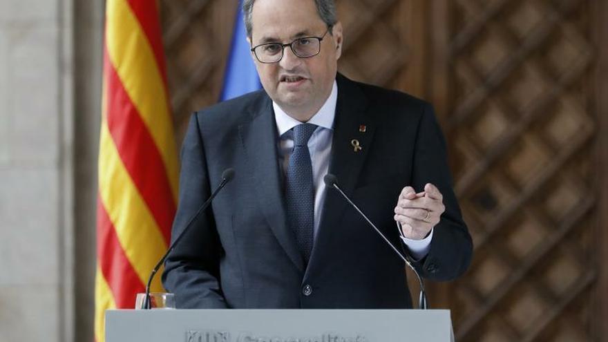 Torra anuncia que convocará elecciones cuando se aprueben los presupuestos