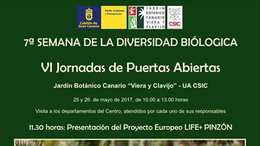 7ª edición de la semana de la Diversidad Biológica en el Jardín Canario