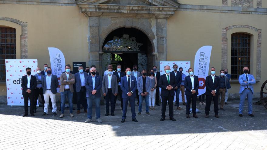 Presentación de la segunda edición de 'EdiFica 21' que se celebrará en septiembre en Pamplona
