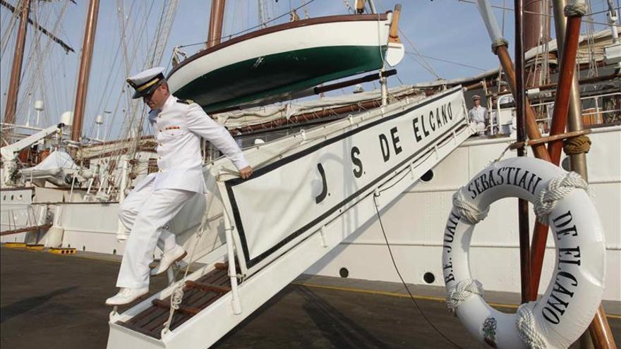 Buque escuela español arribó al puerto del Callao para una visita de cinco días