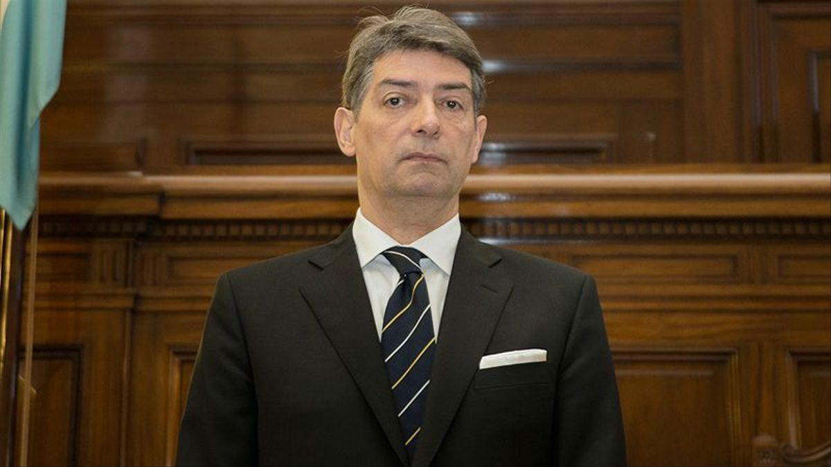 Horacio Rosatti, nuevo presidente de la Corte Suprema.